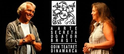 Eugenio Barba e Julia Varley. Foto: Marcelo Dischinger.