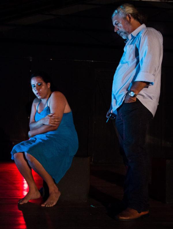 Patríca Casavelha e Fabiano Leão. Foto: Fernando Figueirôa