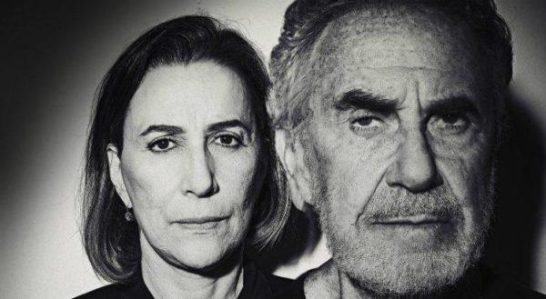 Stella Maris Saldanha e Germano Haiut. Foto: Rento Filho