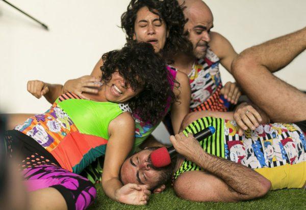 Os Superficiais. Foto: Drailton Gomes
