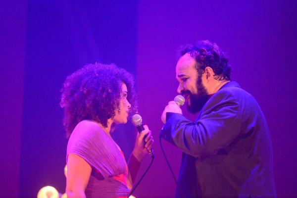 Isadora Melo e André Brasileiro. Foto: Pedro Portugal /Divulgação
