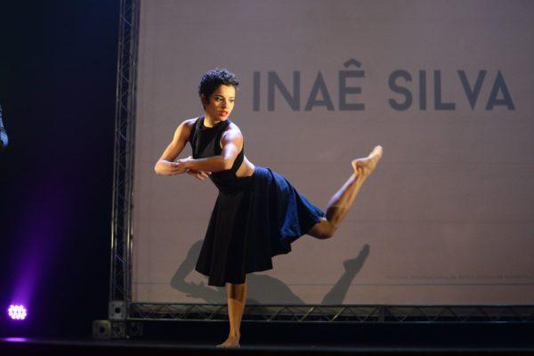 Improvisação dançada da bailarina Inaê Silva