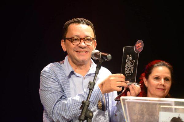 Rudimar Constâncio, do Sesc Piedade, recebeu prêmio especial da Apacepe