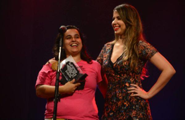 Luciana Raposo, com Bruna Castiel
