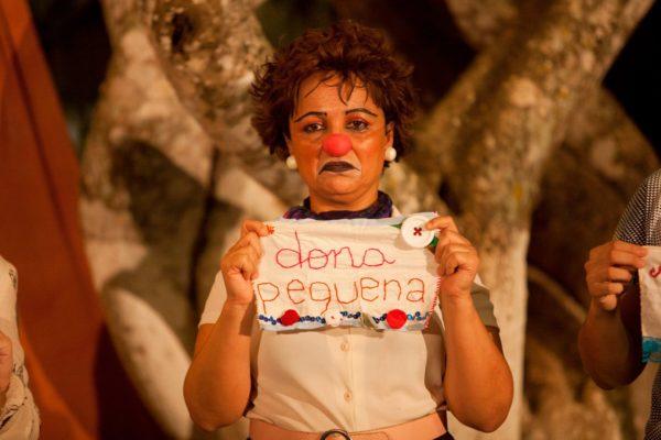 Ana Nogueira é convidada especial no Cabaré de Quinta. Foto: Sayonara Freire.