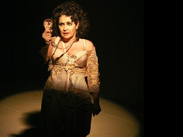 Peça com Inez Viana é inspirada em romance de Moacir Scliar. Foto: Divulgação