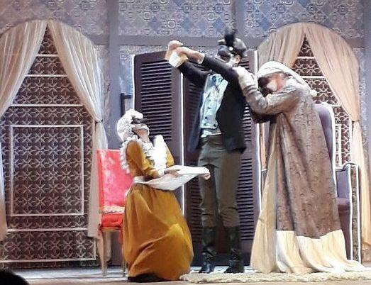 Montagem do clássico de Molière tem direção de Max Almeida. Foto: Divulgação