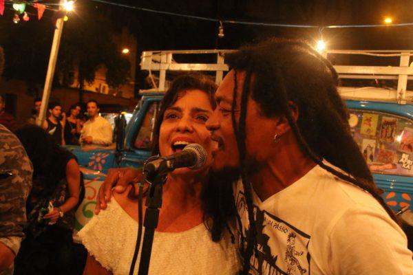 Mônica Feijó e Cannibal. Foto: Xirumba Amorim