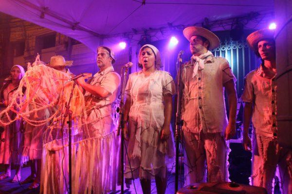 Ópera do Sol na Virada Cultural. Foto: Xirumba Amorim