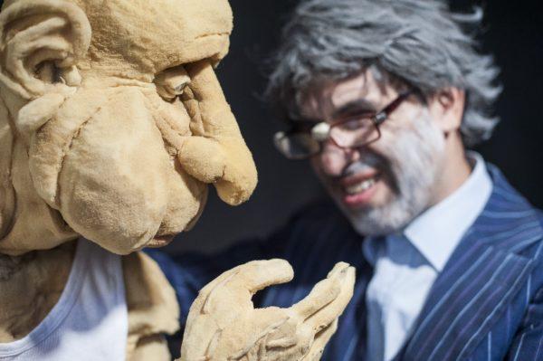 Sergio Mercurio apresenta 8 sessões do espetáculo Aqueles Velhos de.., último da trilogia sobre a velhice. Foto: Pablo Gonzales
