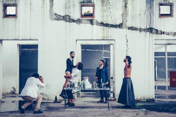Magiluth estreia Dinamarca, 9º espetáculo do grupo. Foto: Bruna Valença