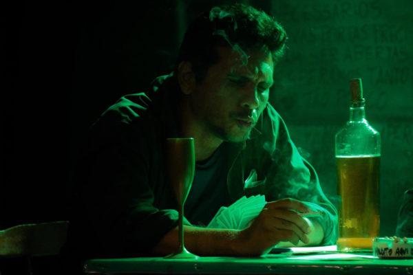 Haverá um Maldito Aqui Dentro,com o ator Joselito Veríssimo, abre programação do FETD. Foto Alex Chagas