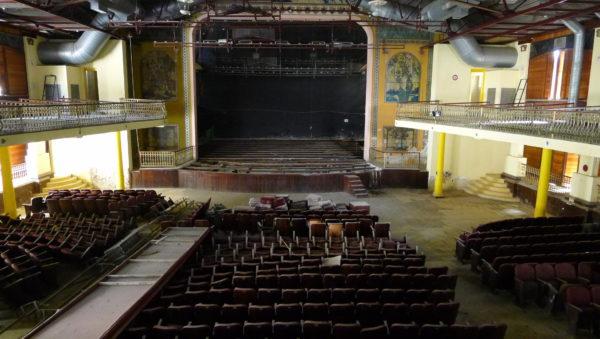 Vista interna do Teatro do Parque em imagem de 2015. Foto: Ivana Moura /Divulgaçao