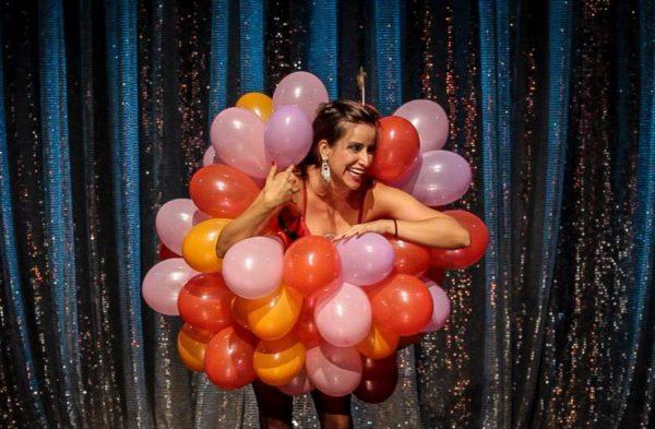 Balões, com Ana Sawen. Foto: Fabiano Cafure/ Divulgação