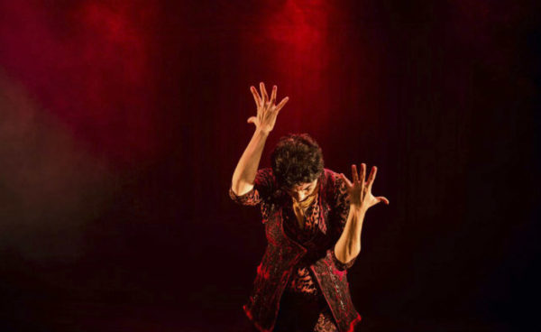 Bailarina e coreógrafa Maria Paula Costa Rêgo em As Três Mulheres de Xangô. Foto: Divulgação