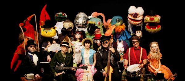 Alice Live, com o Grupo Giramundo e a banda Pato Fu. Foto Divulgação