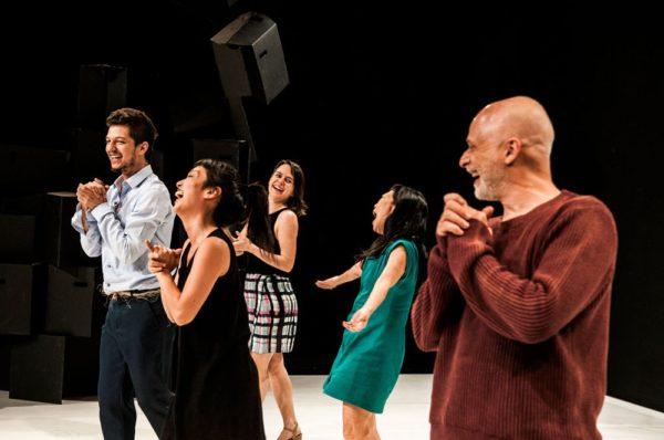 A cia. é dirigido por Key Sawao e Ricardo Iazzetta. Foto: Ines Correa / Divulgação
