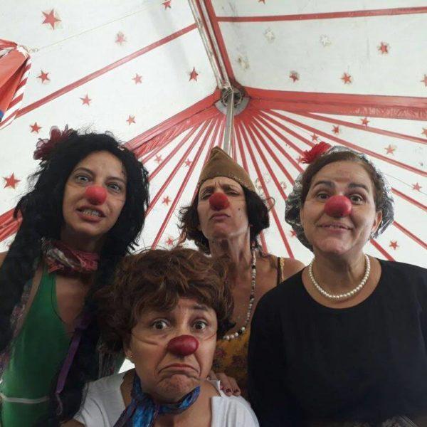 Silvinha Góes, Ana Nogueira, Fabiana Pirro e Mayra Waquim. Foto:Reprodução do Facebook