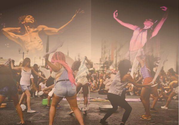 Imagens no cartaz: Rogerio Alves -espetáculo Meia-noite; @eriquerfl - Trans(passar); Nathalia Verony - Água Dura