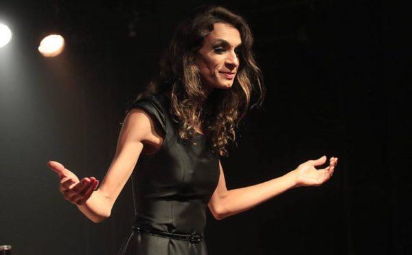 Renata Carvalho em O Evangelho segundo Jesus, Rainha do Céu. Foto: Reprodução do Facebook